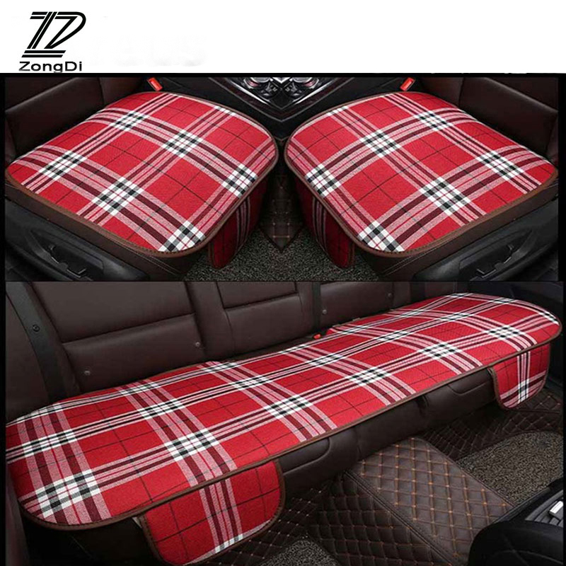 ZD For Citroen C5 C4 C3 Mini Cooper Opel Astra H G J Vectra C Saab Linen Car Accessories ...