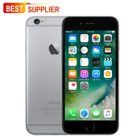Оригинальное разблокирована APPLE Смартфон iPhone 6 16 ГБ/64 ГБ/128 ГБ, 4,7 дюймов, 4 г LTE, отпечатков пальцев, выглядит как новый, гарантия 1 год