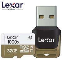 Lexar 150MB S 1000x MicroSD SDHC 32GB Class 10 64GB MicroSDXC 128GB Memory Card Reader UHS