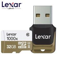 Lexar 150MB/s 1000x MicroSD SDHC 32GB Class 10 64GB microSDXC 128GB Memory Card Reader UHS for Drone Gopro Hero Sport Camcorder