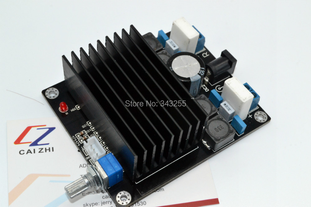 Free Shipping TDA7498 100W 100W Class D Amplifier Board High Power Amplifier Board Want good quality