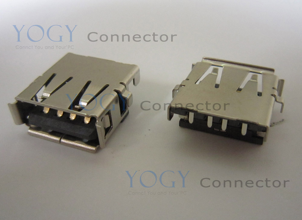 10pcs 14mm USB Jack fit for HP CQ57-300 2000-300 Series and other laptop motherboard USB board female usb connector port