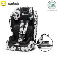 Baaobaab 750 2 in 1 ISOFIX Connector Car Seat 9 36 kg Portable Baby Children Booster Safety Seat Group 1 2 3, 9 months 12 Years