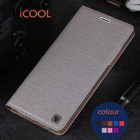 Original ICOOL Brand Phone Case Flip PU Leather Cover TPU Soft Case For Xiaomi Redmi Note