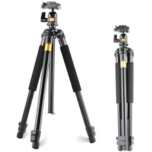 Pro Q308 Aluminum Portable Digital Photography Tripod With Ball Head & Quick Release Shoe Plate Camera Stand For Video DSLR