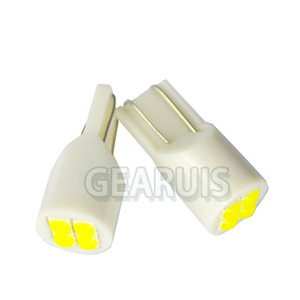 Image 2 - 100 T10 4 SMD 3030 LED 501 w5w 194 168 60MA wedges car interior instrument Reading Lights Luggage Car Door Light LED White