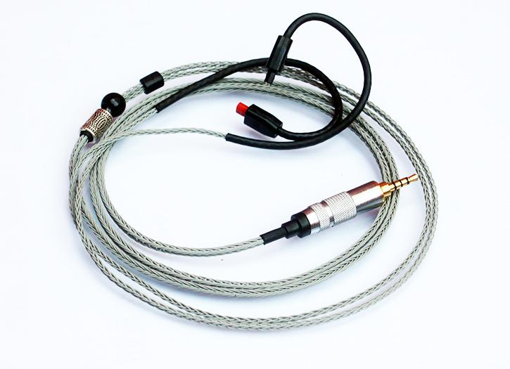 RSA balanced output amp headphone cable se535 se215 TF10 w4R IE80 CKS1100 hosa pro balanced rean dual 1 4 inch trs interconnect cable