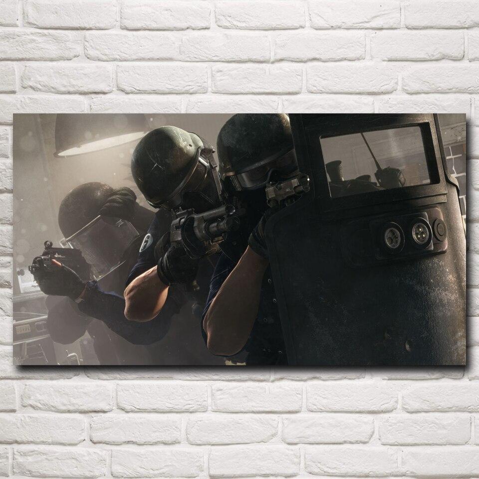 Rainbow Six: asedio de Tom Clancy Videojuegos Impresiones Del Cartel de la Pintu