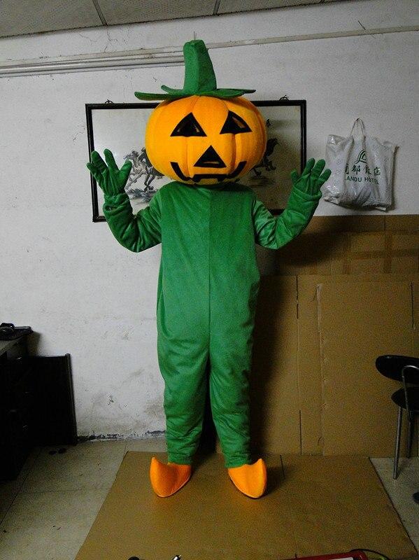 Halloween Pumpkin adult mascot Adult Halloween Pumpkin mascot costume Free shipping