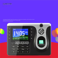 TCP/IP Biometric Fingerprint Time Clock Recorder Attendance Employee Electronic English Punch Reader Machine Realand A C101 12V