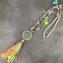 New Bohemian Vintage Pendants & Necklaces Hand Thread Leathe