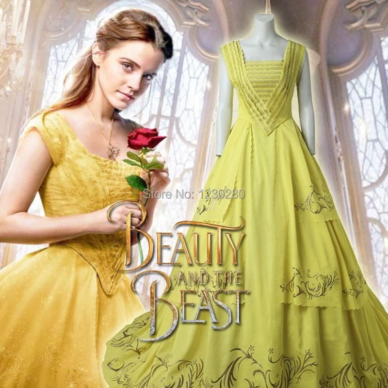 Belle yellow dress women