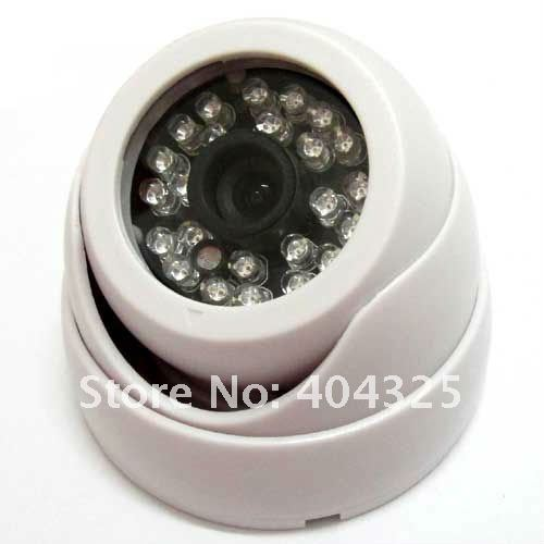 1/3 420TVL SONY CCD IR Color CCTV Indoor Dome Security Wide Angle Camera 24 LEDs Night Vision эротическое белье женское casmir dallas chemise цвет черный 04309 размер s m 42 44