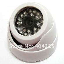 1/3″ 420TVL SONY CCD IR Color CCTV Indoor Dome Security Wide Angle Camera 24 LEDs Night Vision