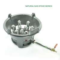 18KW Super Quality Natural Gas Only Bigh Fire Kitchen Cooking Burner Stove Cast Iron Hotel Restaurant