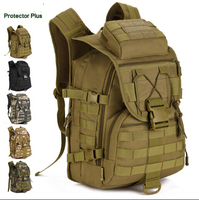 40L Camping Bags Waterproof Molle Backpack Military 3P Ad Tactical Backpack Assault Travel Bag For Men