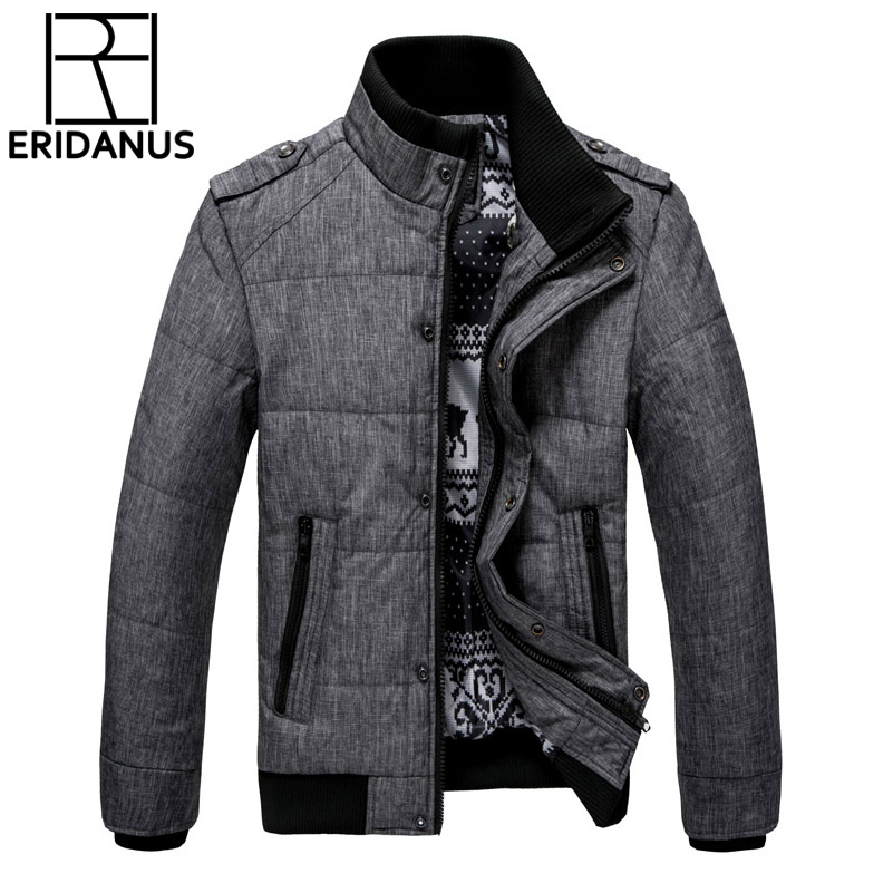 2017 New Brand Winter Warm Jacket for Men Hooded Coats Casual Mens Thick Male Slim Cotton Padded Fit Snow Cold Outerwear M468 цена