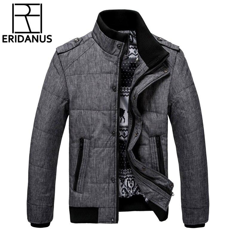 2017 nouvelle marque hiver chaud veste pour hommes à capuche manteaux décontracté épais mâle mince coton rembourré Fit neige froid vêtements d'extérieur M468