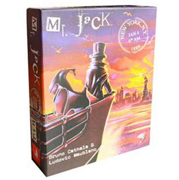 board game Mr jack in NY, high quality, best card game very suitable for the family board game risk 2nd version full english version high quality very suitable for the party and family