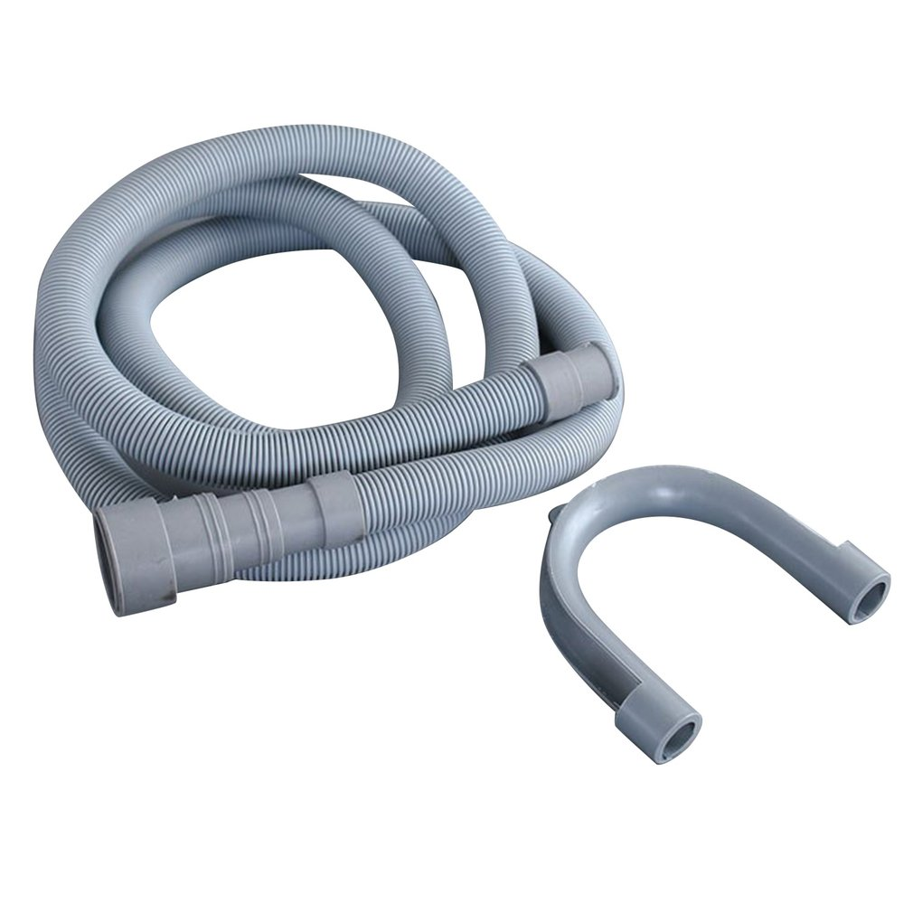 2m Universal Fully Automatic Drum Washer Washing Machine Hose Drain Pipe Down Pipe Outlet Pipe Extended Extension Tube