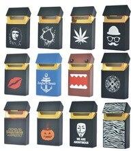 Силиконовый чехол для сигарет с дизайном более 100, силиконовая коробка для 20 сигарет, чехол для сигарет, поддержка оптовой продажи