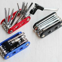 New 14 in 1 Bicycle Mountain Road Bike Tool Set Bicycle Cycling Multi Function Repair Tools Kits Wrench Screwdrive Chain Cutter