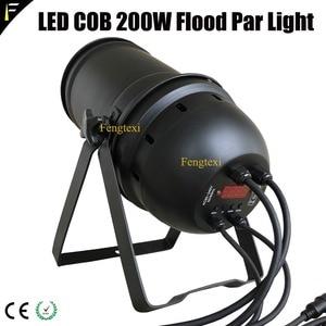 Image 4 - 2 adet aşağı ışık COB LED 200w yakınlaştırma spot 15 ~ 50 derece stüdyo ile Par LED Par56 siyah konut geleneksel projektör