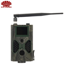 16MP Scouting Hunt Trail Camera with 4G FDD LTE Band 2inch TFT LCD & 1080P HD Video Via Auto MMS and SMS Command Waterproof IP66(China)
