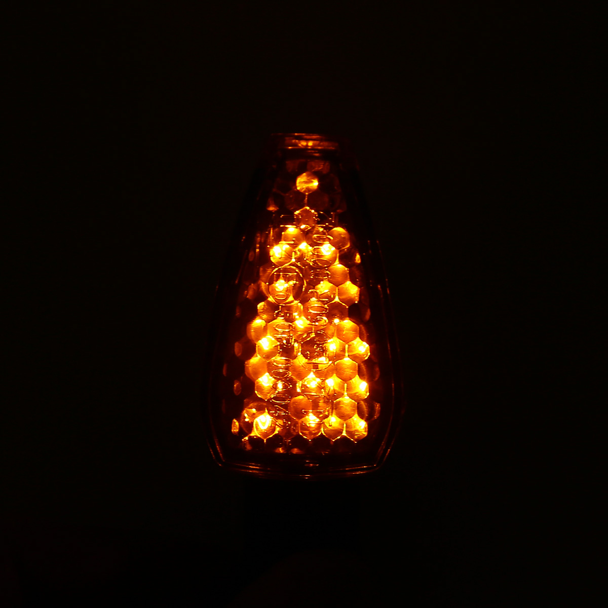 4pcs Universal 15 LED 12V Motorcycle Turn Signal Indicator Light Lamp Blinker Amber