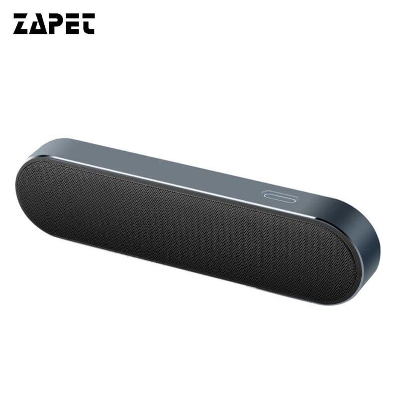 ZAPET Altoparlante Portatile Bluetooth Metallo 3D Stereo Senza Fili Altoparlanti Sistema di Altoparlanti musica MP3 audio player supporto AUX con IL MIC