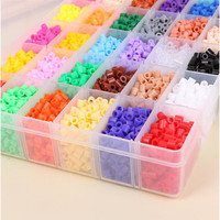 puzzles for kids adults Perler Beads Hama Beads 5mm Food grade EVA Puzzle Creative DIY 10000pieces 36colors intellectual toys