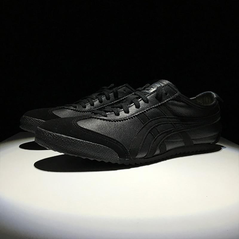 pretty nice 0a93c 61ecf Original ONITSUKA TIGER MEXICO 66 Men/'s Shoes Black ...