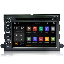 Free Shipping Android 7.1 RAM 2G ROM 16G Car DVD GPS For Ford Focus Fusion Expedition F150 F250 F500 Escape Edge Mustang
