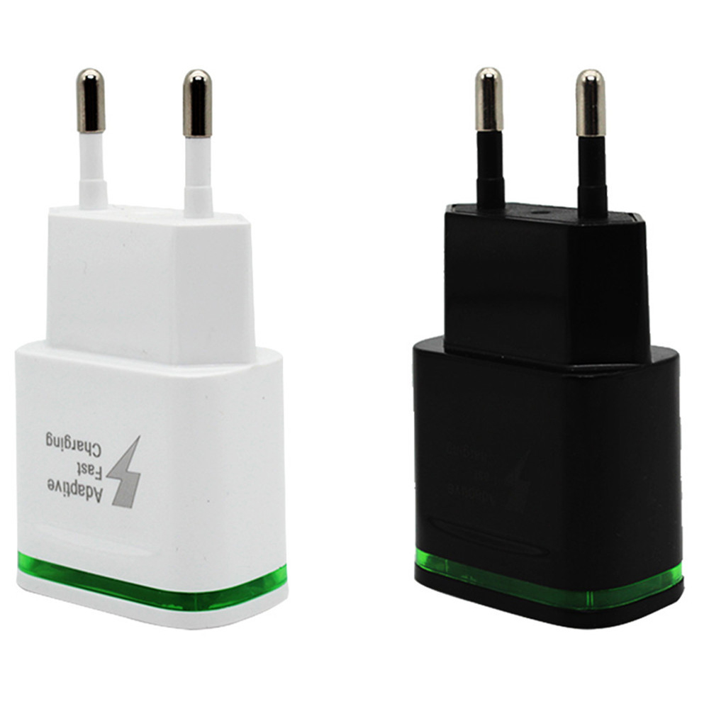 MLLSE USB Charger Quick Charge 3 0 Fast Charging with LED Light for Samsung iPhone iPad Xiaomi Travel Mobile Phone Adapter in Mobile Phone Chargers from Cellphones Telecommunications