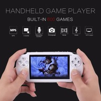New Portable 64 Bit Video Game Console PAP Handheld Game Player Built In 600 Games Professional