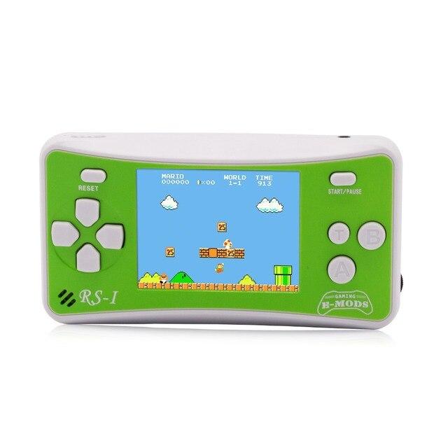 """2.5 """"어린이를위한 8 비트 휴대용 비디오 휴대용 게임 콘솔 레트로 162 클래식 게임 플레이어 80 년대 아케이드 비디오 게임 시스템"""