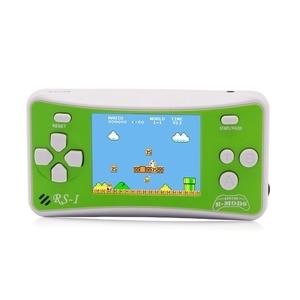 "Image 1 - 2.5 ""8 ビットポータブルビデオの携帯ゲーム機子供レトロ 162 古典的なゲームプレーヤー by アーケードビデオゲームシステム"