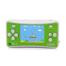 """Consola de juegos portátil de 8 bits para niños, 2,5 """", Retro, 162"""