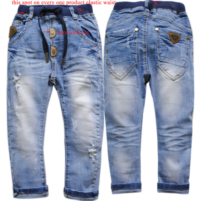 3970 regular boys jeans denim spring autumn  trousers kids jeans pants children's pants fashion new very  nice little hole