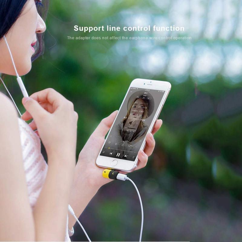 Hsmeilleur-8-Pin-Dual-Splitter-Adapter-Headphone-Jack-Adaptor-For-iPhone-XS-max-XR-X-8-8Plus-7-Plus-Mini-Audio-Charge-Adaptateur (9)