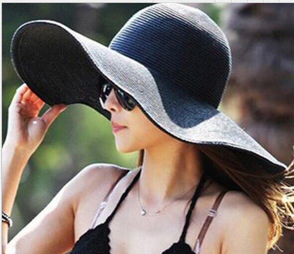 16 цветов 2016 мода женская складная большой краев Ladies'Cap пляж цветочные вс шапки шляпа конфеты colorSummer шляпы для женщин
