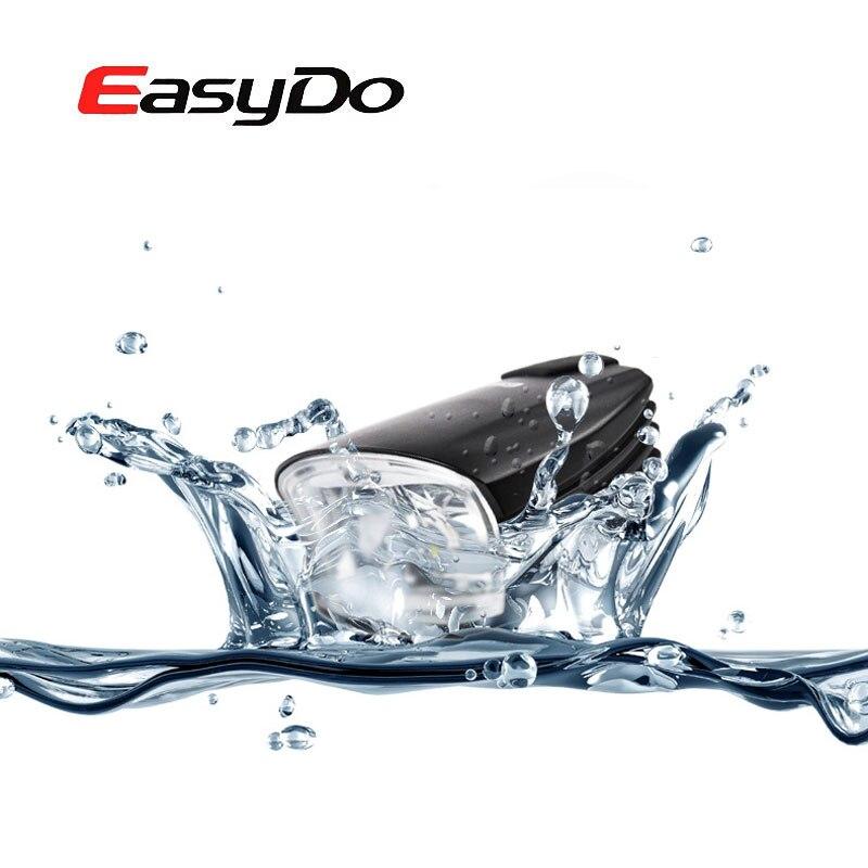 Easydo Smart High/Low Beam Bicycle Light Switch Intelligent MTB Road Bike Handlebar Headlight USB Rechargeable Front LED Lamp - 3