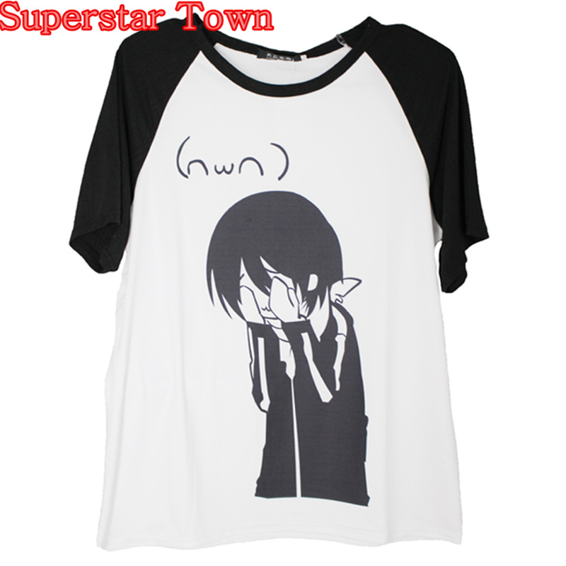 d56df25cdaf9 Товар Women T-shirts Casual Noragami T-shirt Japan Anime Clothes ...