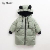 Children Jackets Boys Girls Winter Down Coat Baby Winter Coat Kids Warm Outerwear Hooded Coat Snowsuit