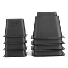 8 stuks Bed Risers Set Stoel meubels benen Olifant Meubels Tafel Hout Been Floor Voeten Cover Protector