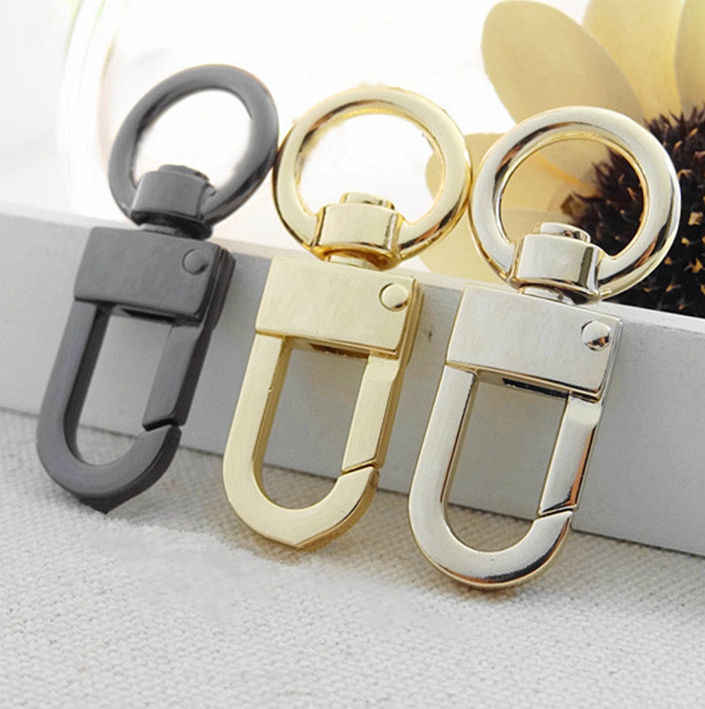 Itemship 10 Pcs Backpack Accessories Economy Zinc Alloy Snap Hooks For Bags Pendant Hang Handbags Straps Diy Necessities In Bag Parts