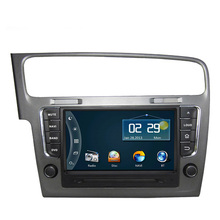 Free Shipping Best Price Stable Performance 8 inch Car DVD GPS Navigation for VW Volkswagen Golf7 Golf 7 2013 2014 RDS Ipod USB