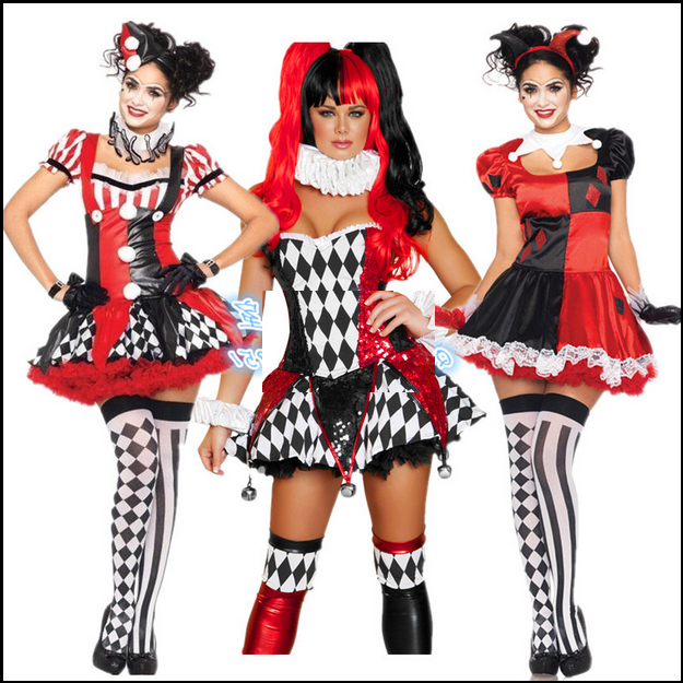new arrival 14 styles sexy women halloween costume classic adult harley quinn cosplay costumechina - Classic Womens Halloween Costumes