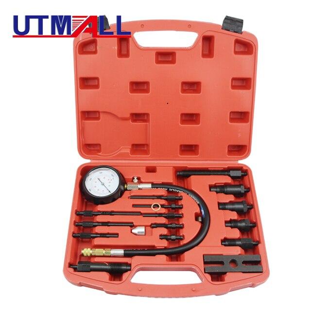TU 15B Professional Diesel Engine Compression Tester of Engine Pressure Gauge