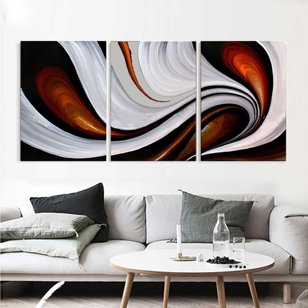 Affordable Wall Decor: Aliexpress.com : Buy 3 Piece Canvas Wall Art Abstract